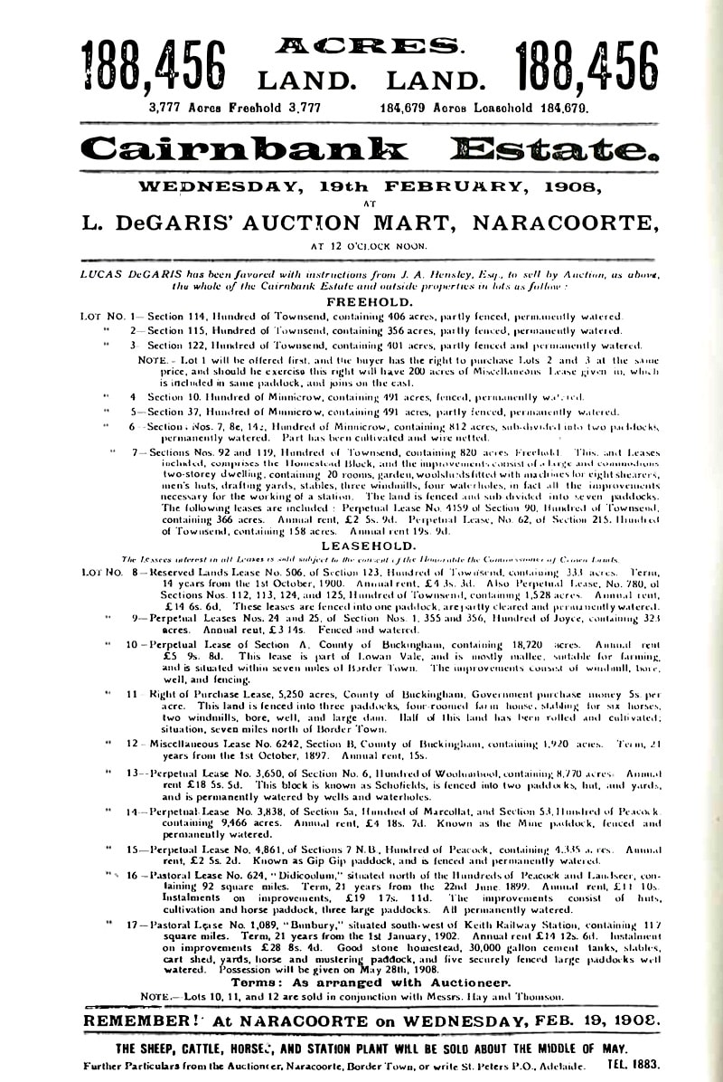 Pg 16 Cairnbank Auction