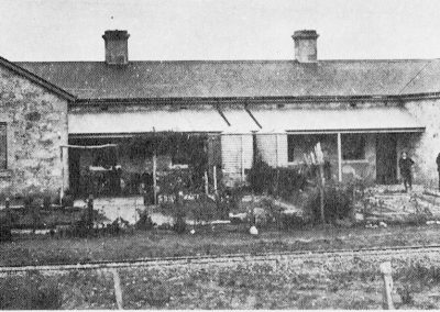 One of the railway cottages at Avenue Range in 1920